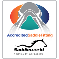Saddleworld_ACCREDITED_SADDLE_FITTING_LOGO_with_Saddleworld_LOGO_200x200