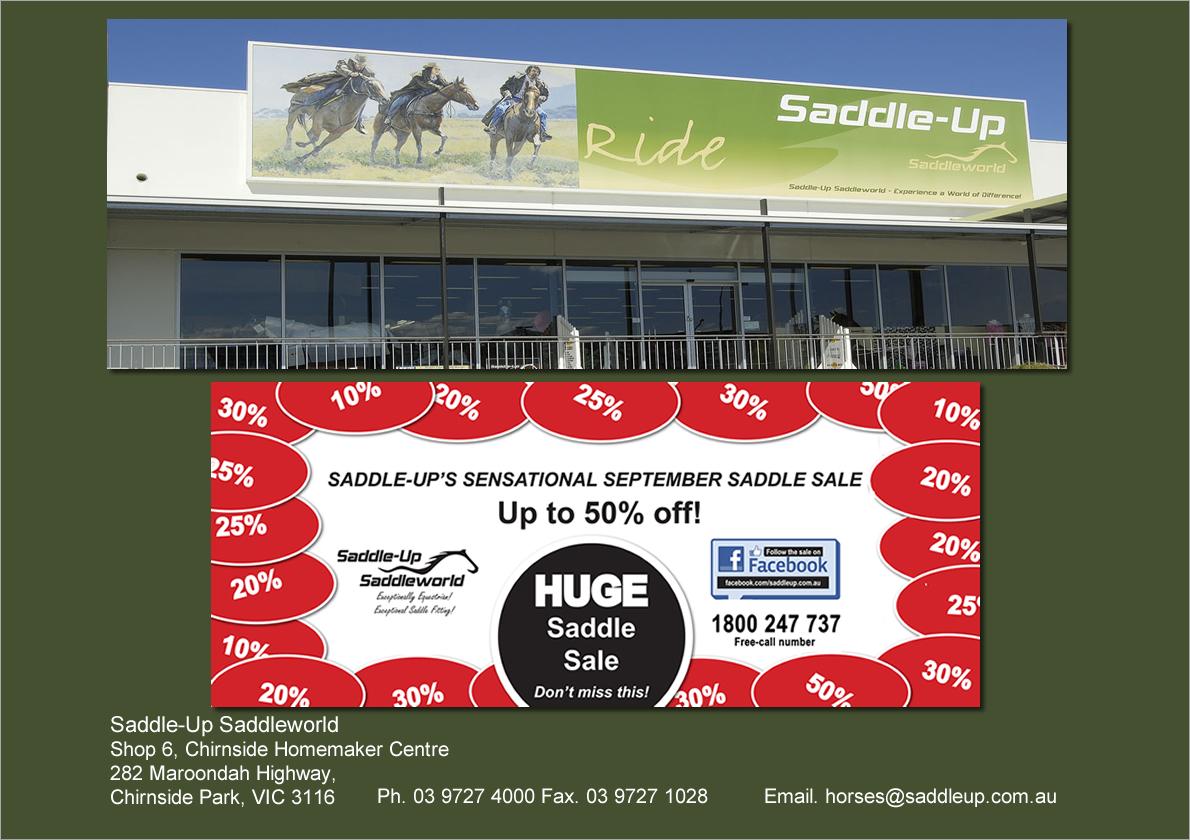 Saddle-Up's Sensational September Saddle Sale